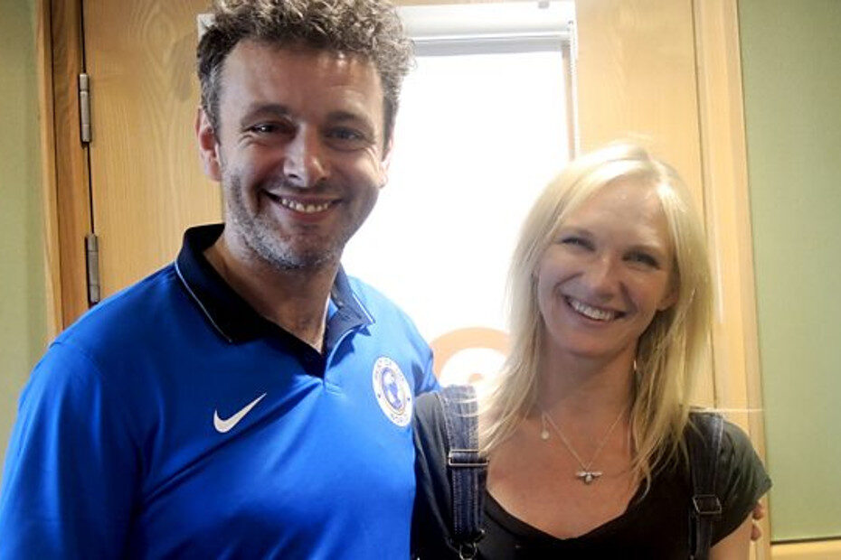 Michael Sheen in conversation with Jo Whiley