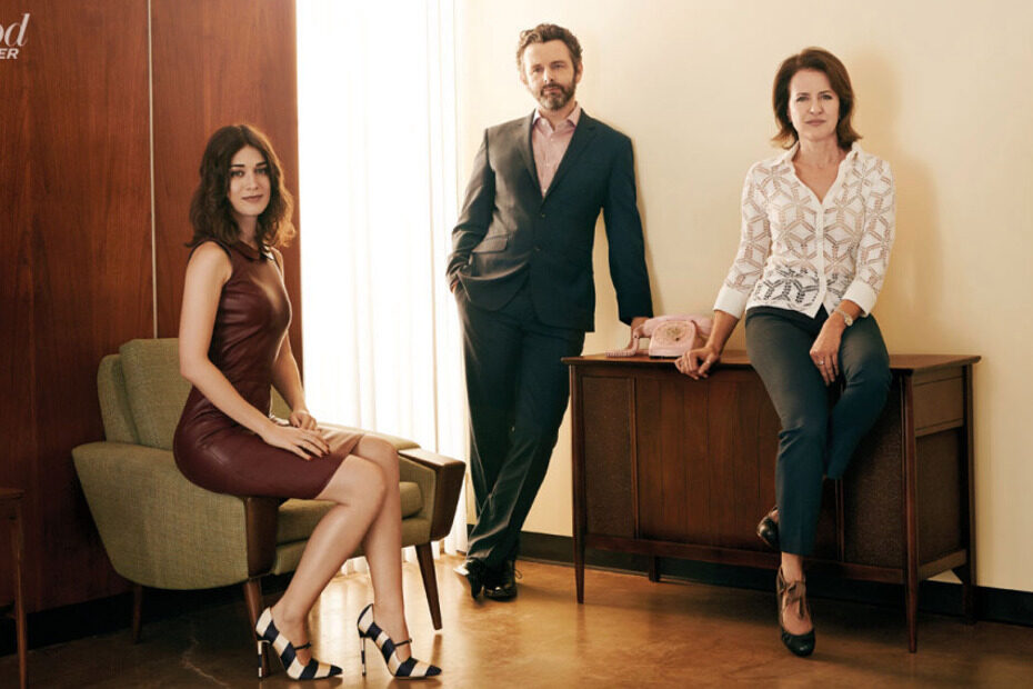 Michael Sheen and Lizzy Caplan interview 'Masters of Sex' creator Michelle Ashford