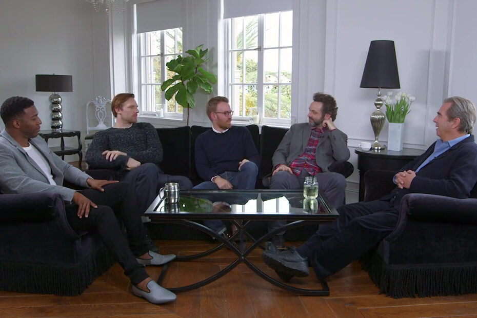 Masters of Sex - Roundtable Men of Sex