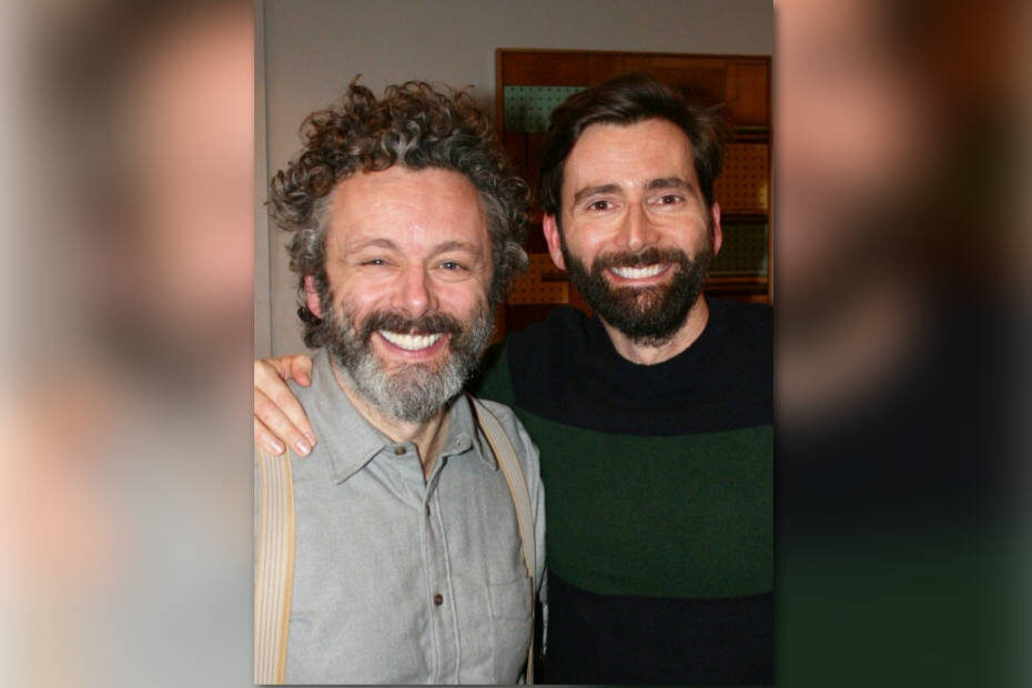 David Tennant does a podcast with... Michael Sheen