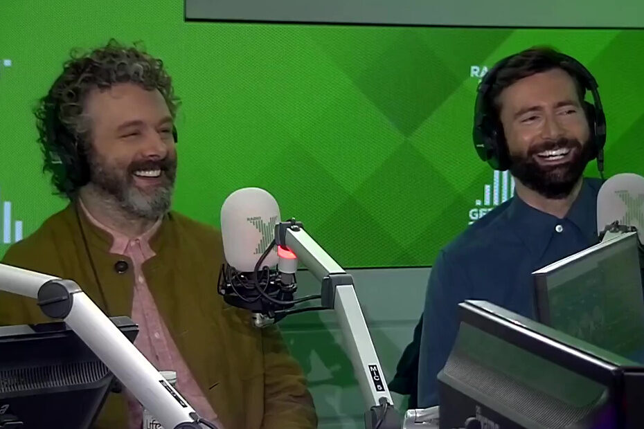 Michael Sheen and David Tennant on The Chris Moyles Show