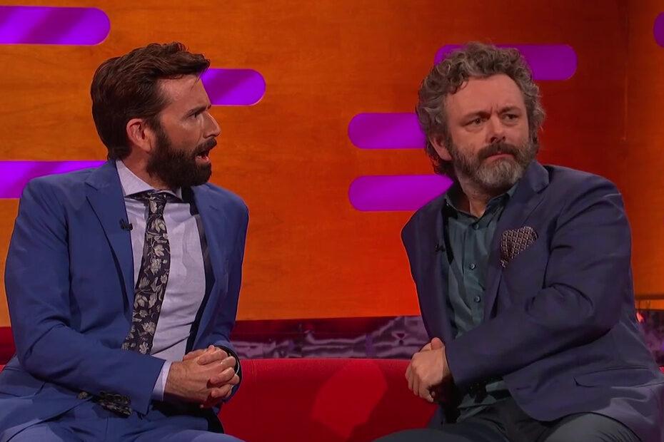Michael Sheen and David Tennant on the Graham Norton show