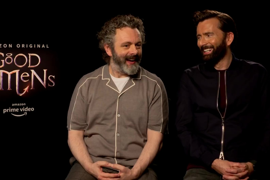 Good Omens publicity: the cast play heaven or hell?