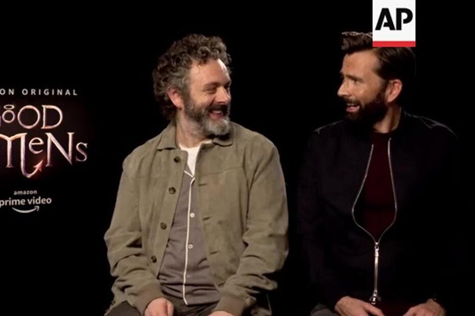 Good Omens publicity: AP interview
