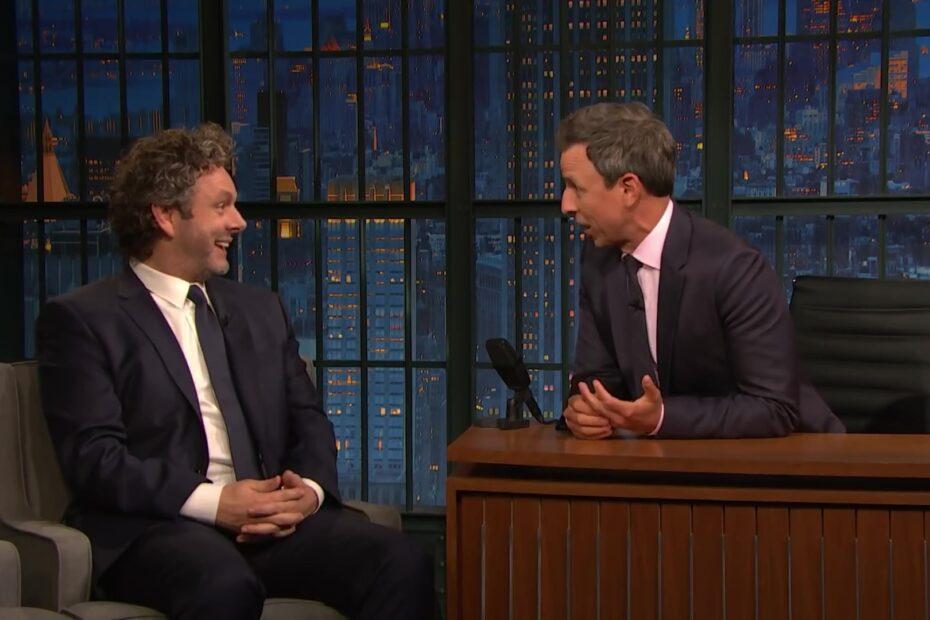 Michael Sheen on Seth Meyers
