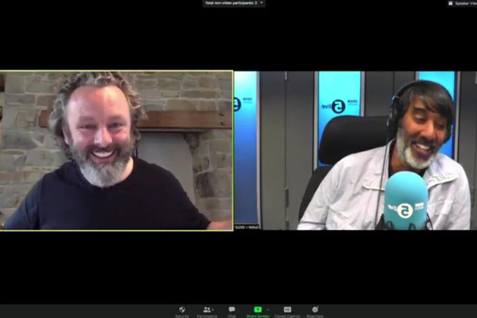 Michael Sheen on Nihal's show on 5 Live