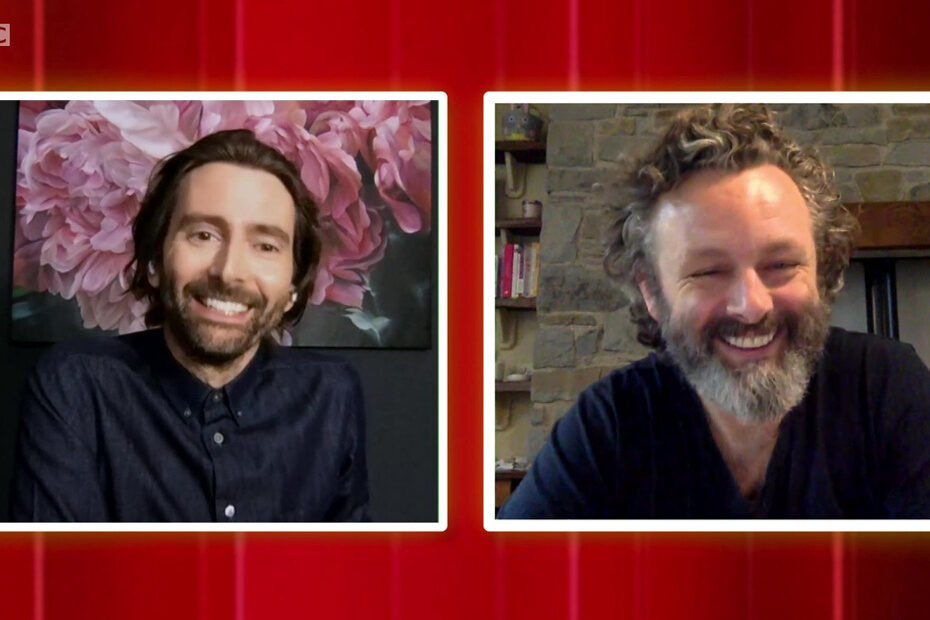 Staged interview on The One Show with Michael Sheen and David Tennant