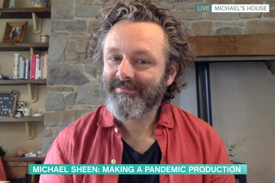 Michael Sheen on This Morning