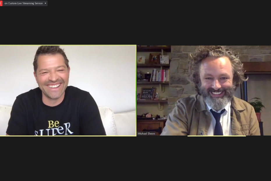 #SuperGood with Michael Sheen and Misha Collins