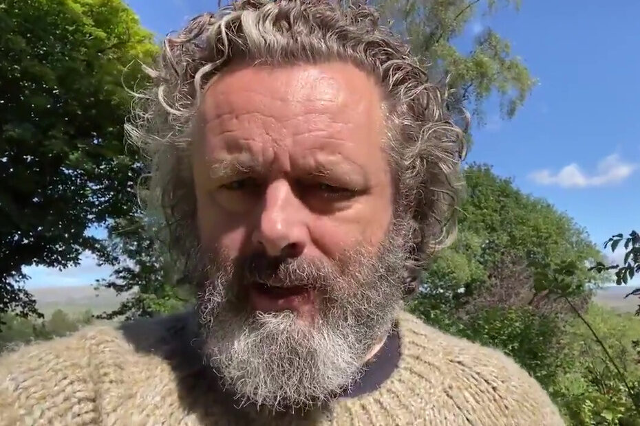 Michael Sheen and The White Curl