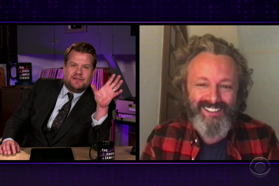 Michael Sheen on The Late Late Show with James Corden