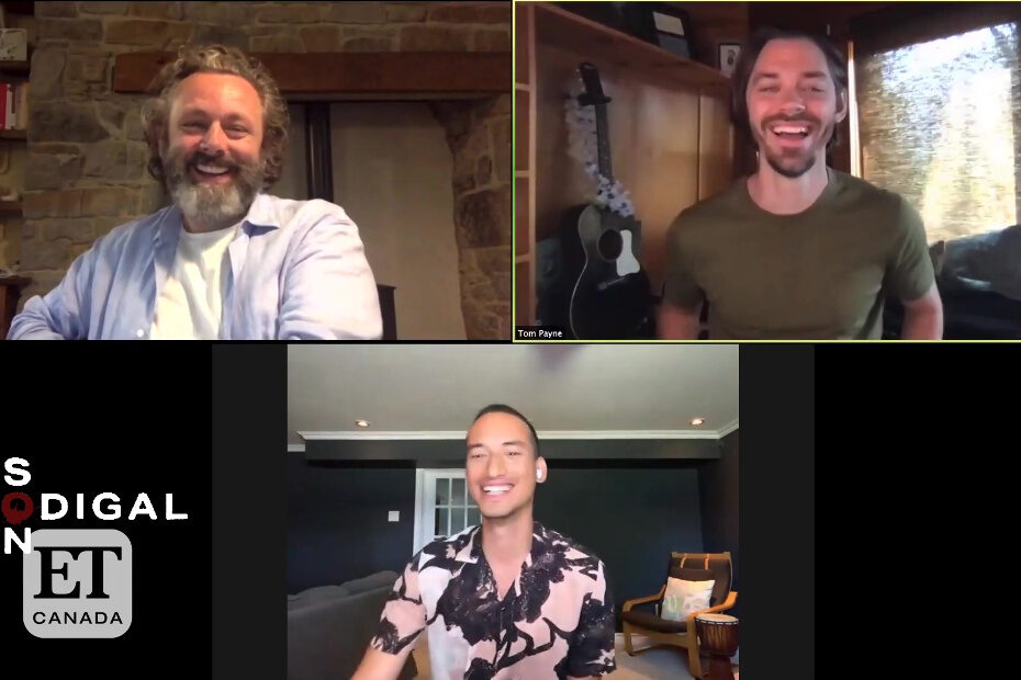 ET Canada interview with Michael Sheen and Tom Payne