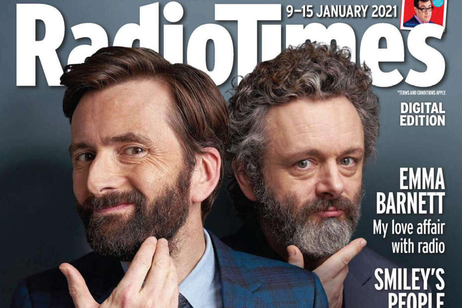 Michael Sheen and the cast discuss Staged in Radio Times
