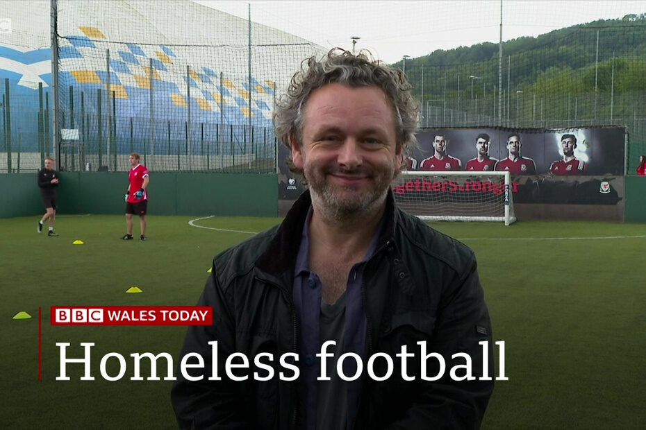 Wales play in the Homeless Four Nations Challenge Cup