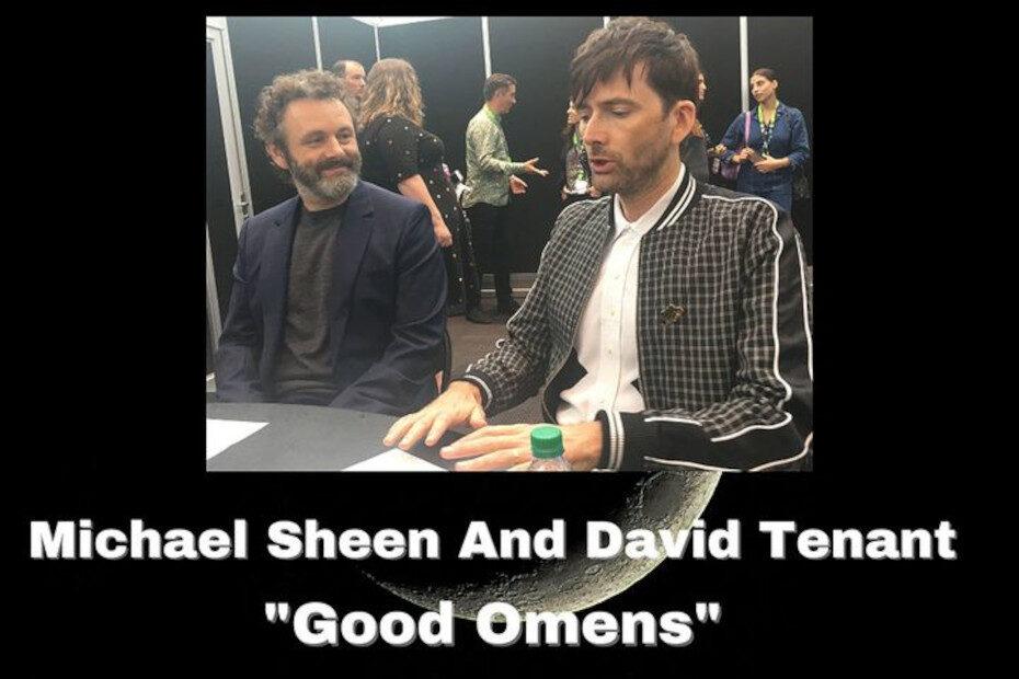 Sci-Fi Talk: Michael Sheen and David Tennant Talk Good Omens